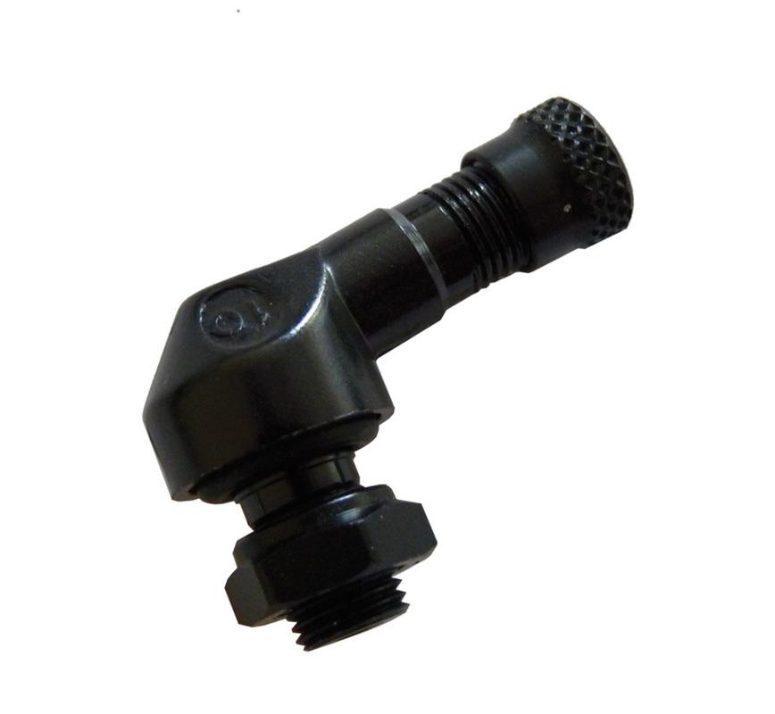 Bezdušový ventil MOTO 8,3 černý