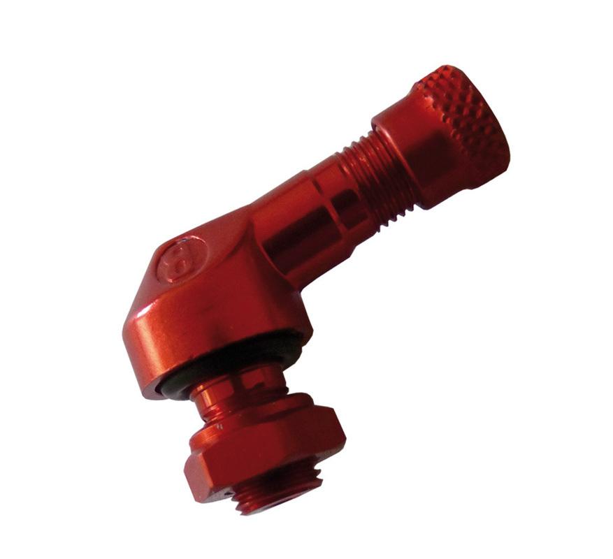 Bezdušový ventil MOTO 8,3 červený
