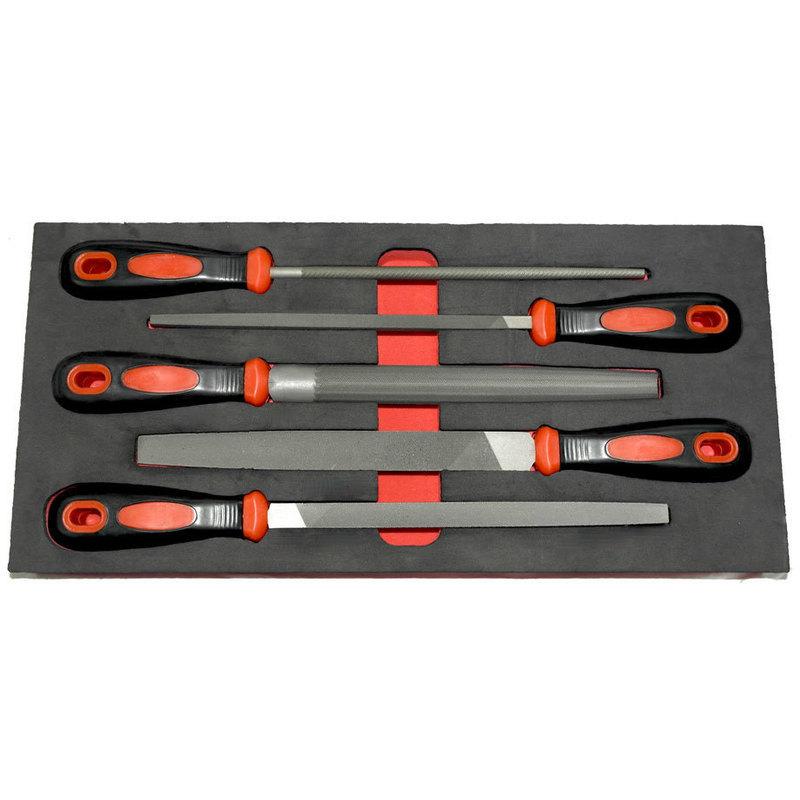 Sada pilníků 5 ks v modulu STRC2706/07
