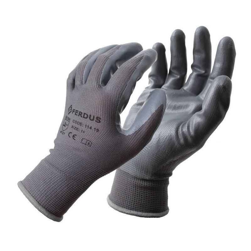 Pracovní rukavice NNBR34 vel. 9