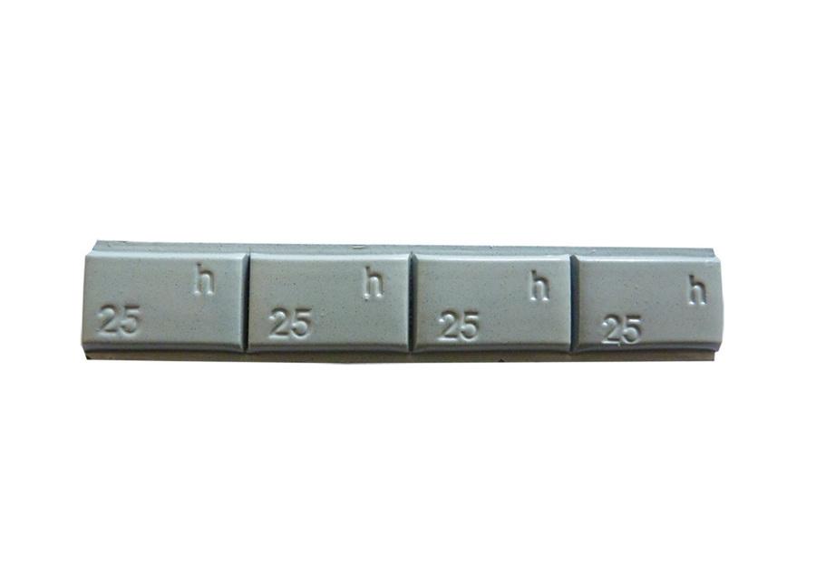 Samolepící závaží TRUCK Pb 4 x 25g - 300 poplastované