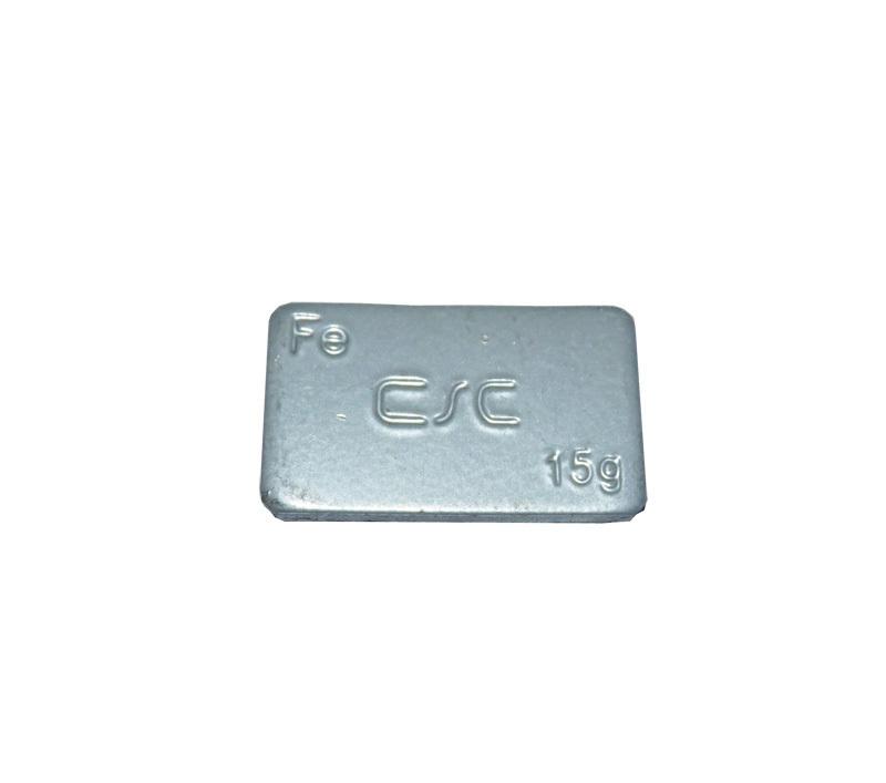Samolepící závaží FEC 15 g - šedý lak