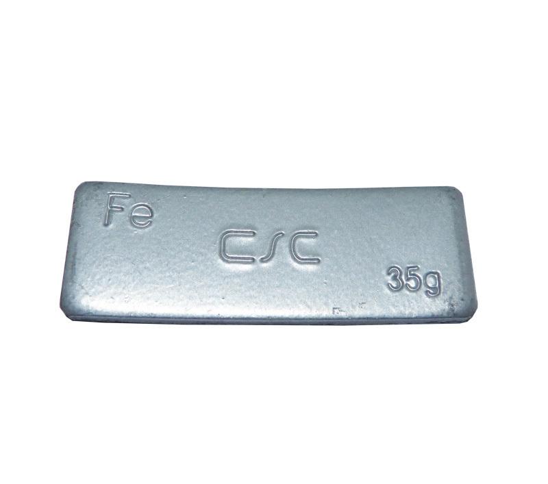 Samolepící závaží FEC 35 g - šedý lak
