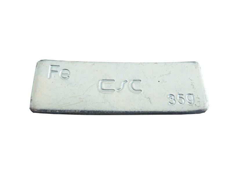 Nalepovací závaží FEC 35 g - pozinkované