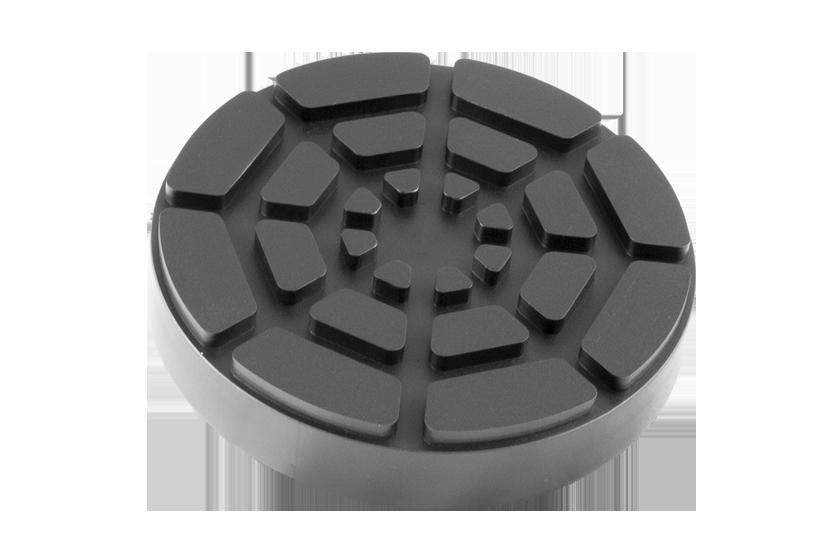 Gumová podložka zvedáku 126x24 mm